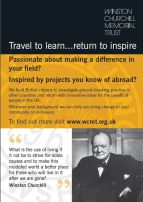 The Winston Churchill Trust's Travelling Fellowship