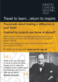 The Winston Churchill Trust's Travelling Fellowship