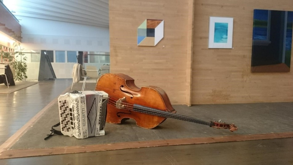 Double bass in Lapland Hospital