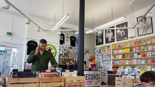 Warren Records, which runs next door to the Warren Youth Project