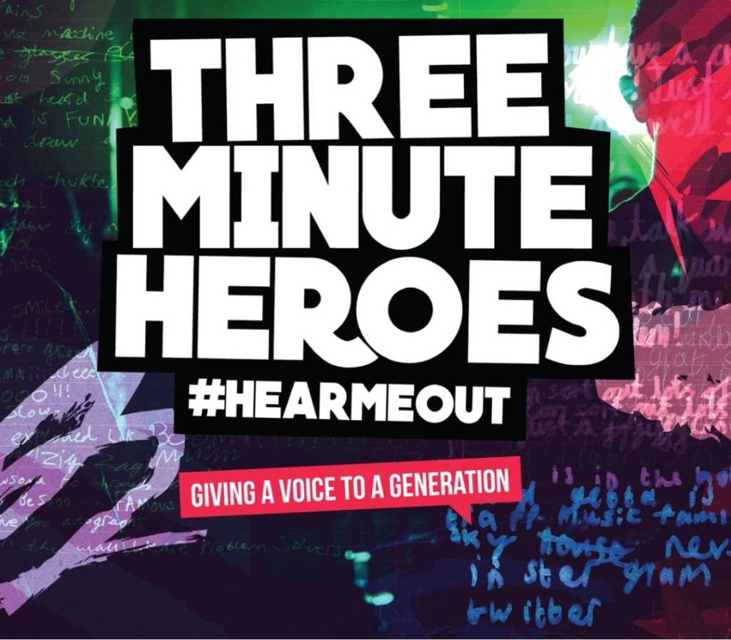 THREE MINUTE HEROES HASHTAG HEAR ME OUT